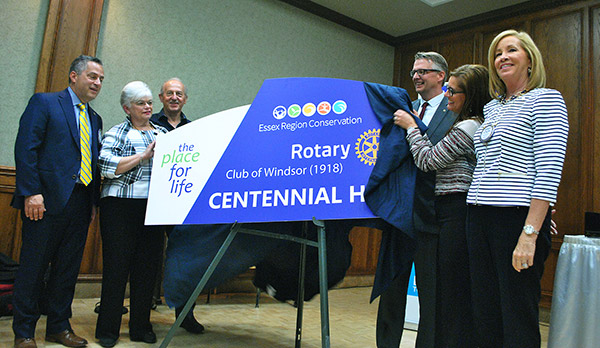 Rotary Club of Windsor - Trail Donation